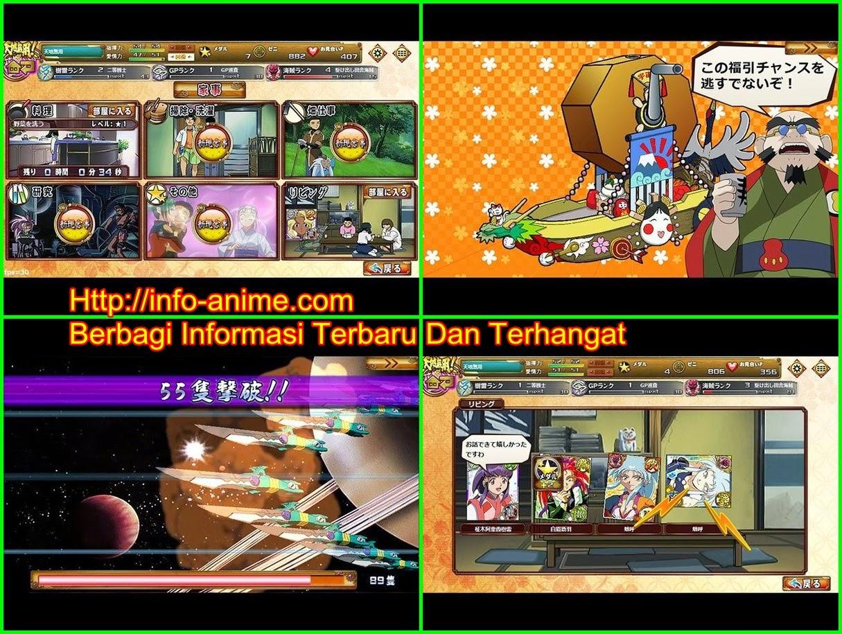 [ Info-Anime ] Anime Tenchi Muyo Dapatkan Game Play Gratis Di Browser Windows