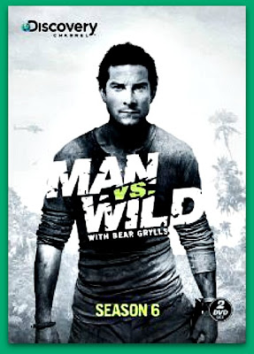 Man vs Wild Season 6 DVD cover
