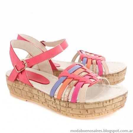 Sandalias de mujer moda verano 2014 Batistella.