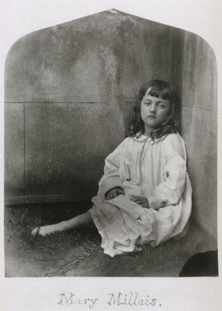 Mary Millais. Lewis Carroll. 1860