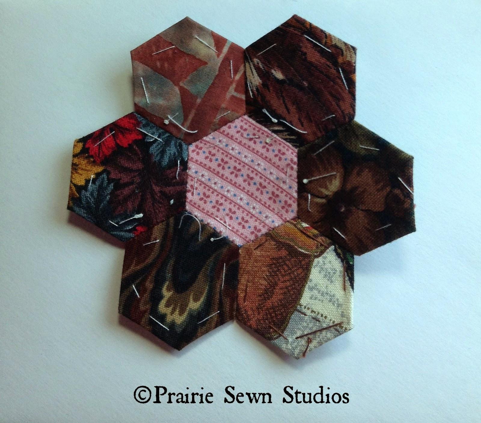 English Paper Piecing Grandmother's Flower Garden