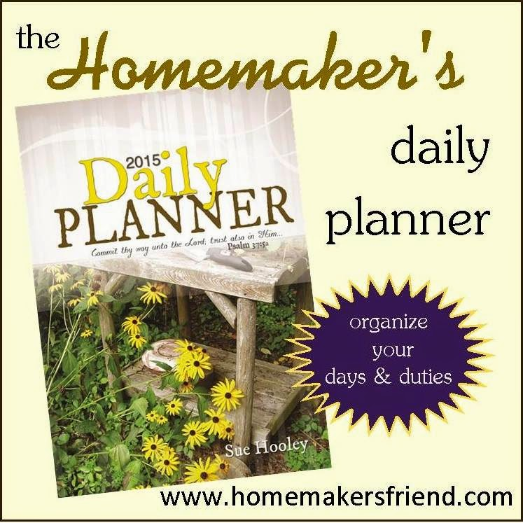 Homemaker's Daily Planner 2015