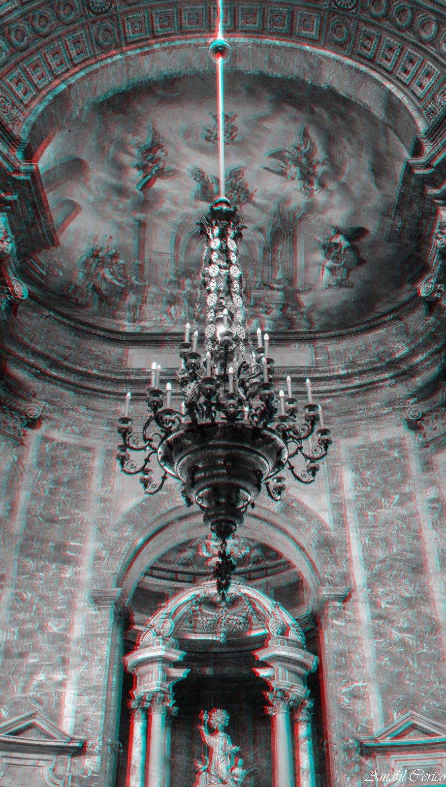 Chandelier in Basilica de Sant Feliu