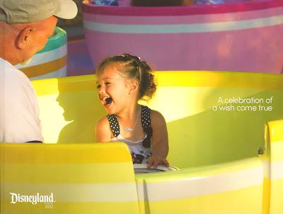 Disneyland passholder souvenir book 2012
