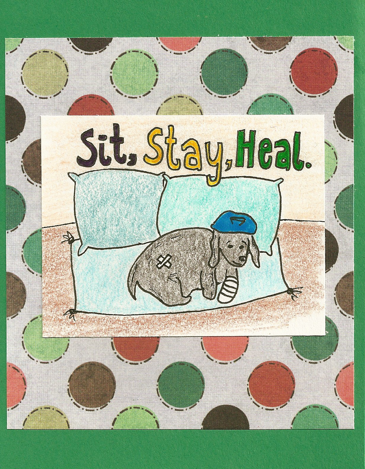 Debbie dots greeting card blog get well soon occasion get well soon kristyandbryce Gallery