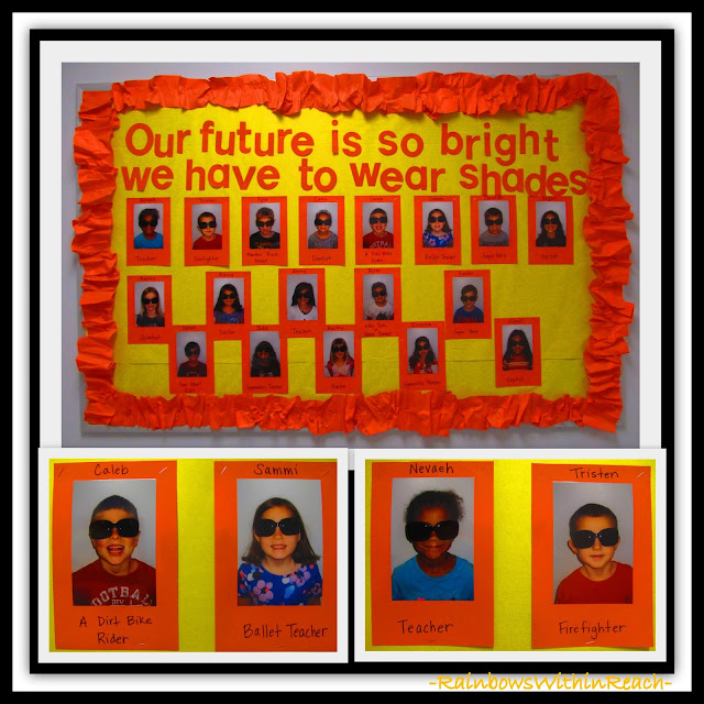 "End of Year ""Graduation"" Bulletin Board via RainbowsWithinReach"
