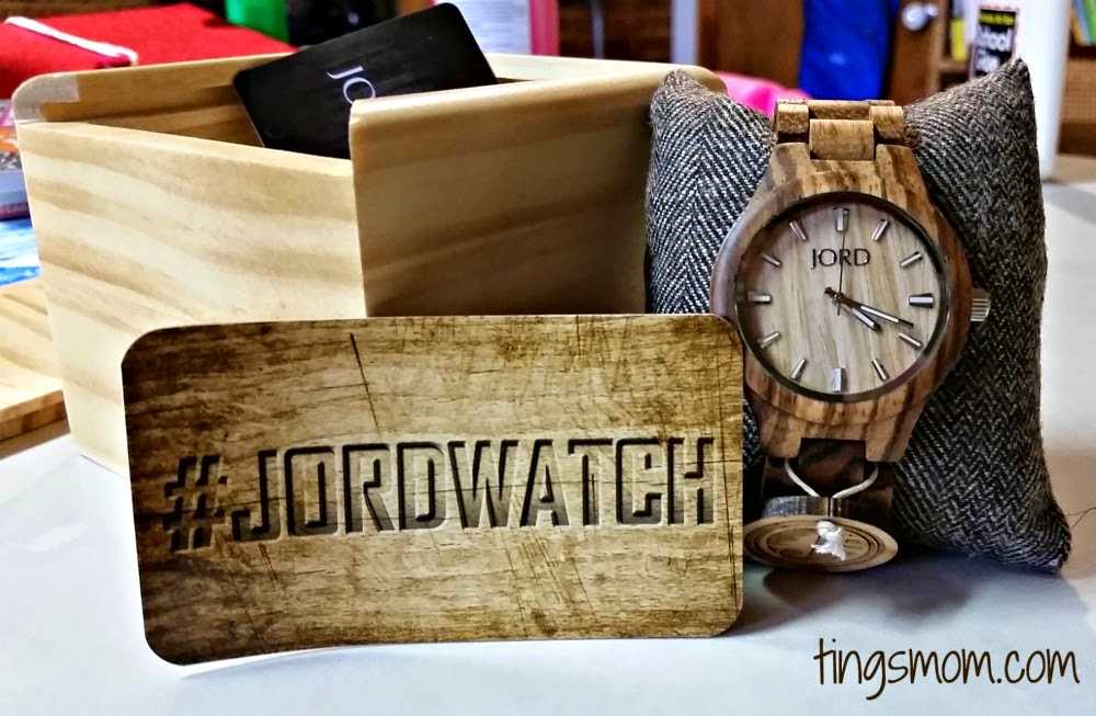 new jord watch