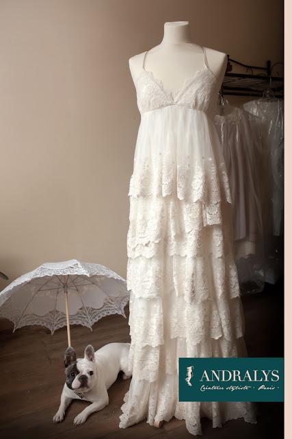 Robe de mariée vintage 2013