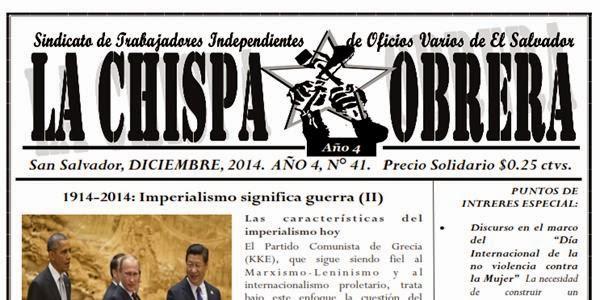 LA CHISPA OBRERA