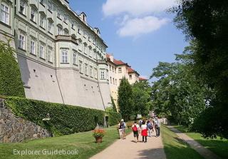 Prague Castle Garden on the Ramparts