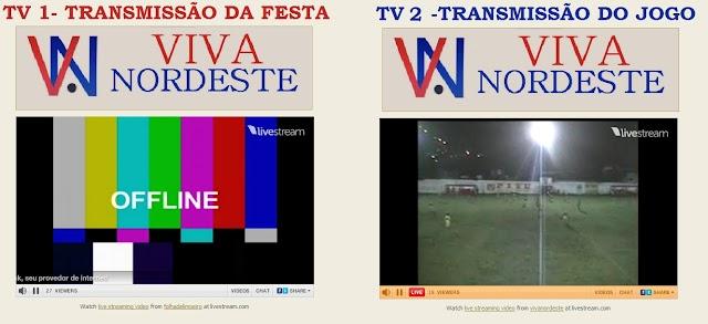 TV Viva Nordeste dá show de transmissão