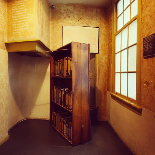 an analysis of otto franks idea for the secret annex All throughout the years she spent at the secret annex, there were many it opens with otto frank and miep gies standing in the more about anne frank - analysis.