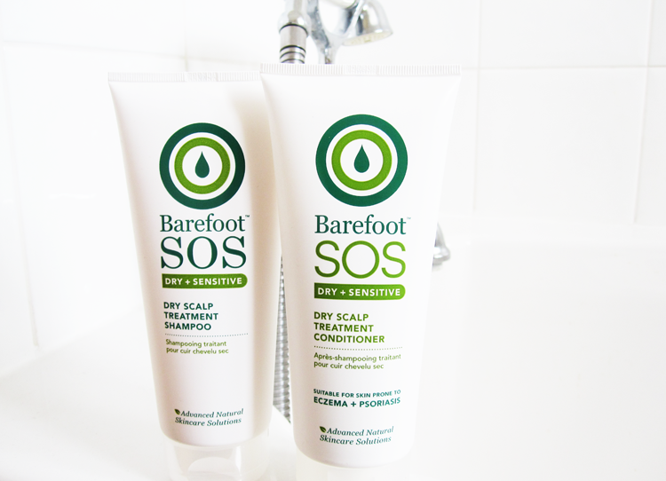 Barefoot SOS Dry Scalp Treatment Shampoo & Conditioner review