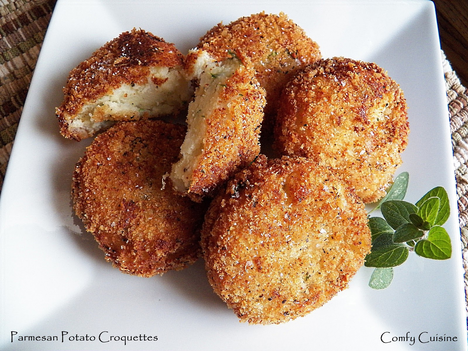 Potato Croquettes with Parmesan