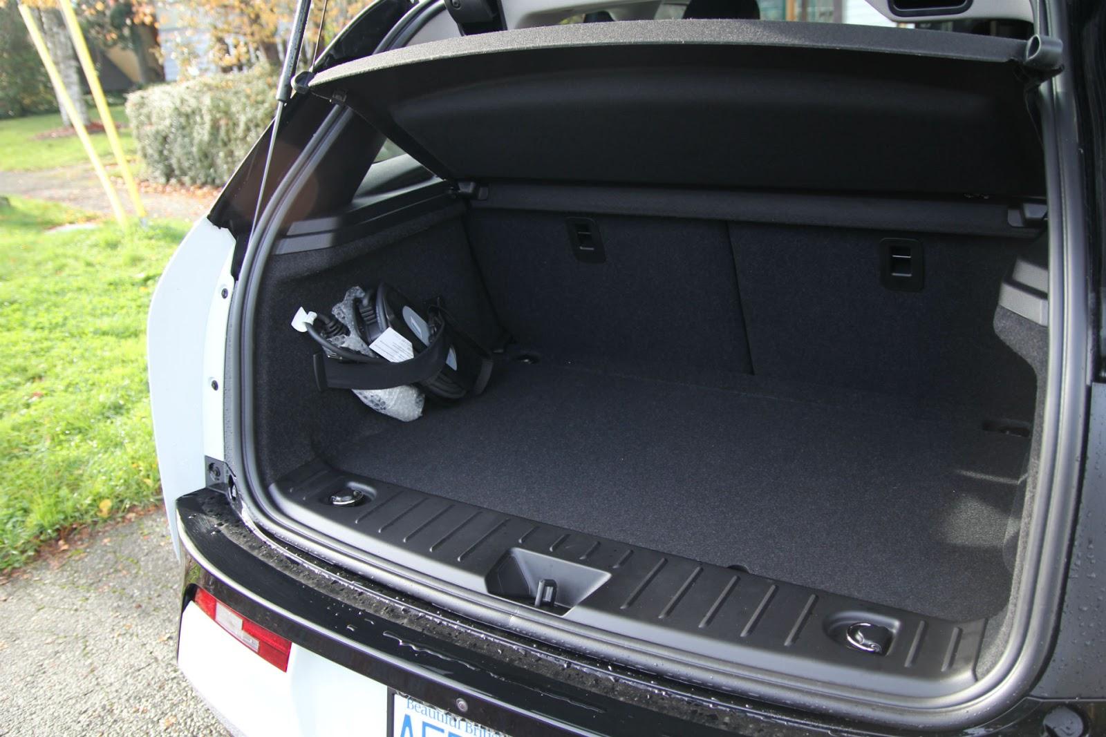BMW I3 Trunk Space