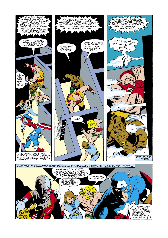 Captain America (1968) Issue #288 #204 - English 18