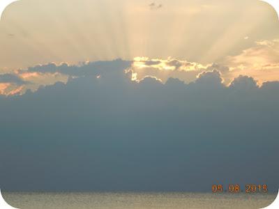 Apus de soare in Salonikios