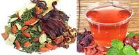 best sencha green tea mint hibiscus goji berry jujube fat burner diet