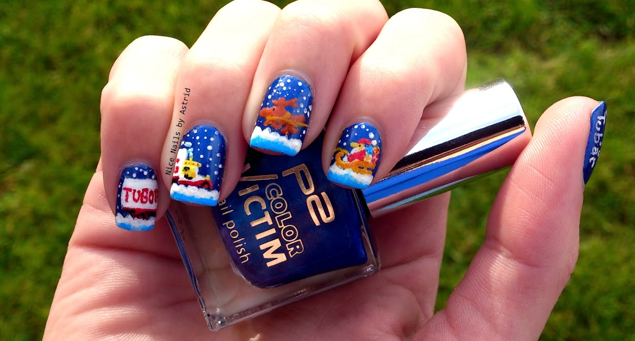 Så faldt sneen - J-dag nail art - P2, So Cool - Nice Nails by Astrid