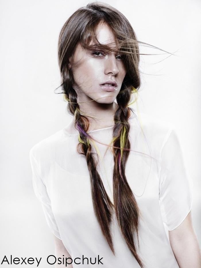 two braids, boho, hippie