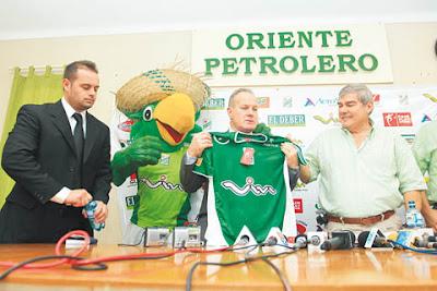 Oriente Petrolero - Carlos Ramacciotti - Miguel Antelo - Club Oriente Petrolero