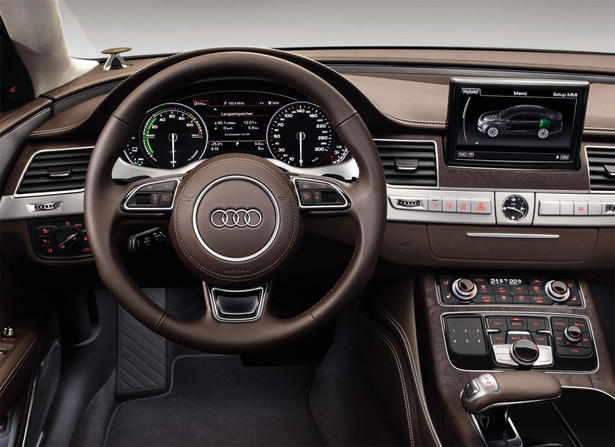 Sophisticated Cars Audi A8 L Hybrid 2013