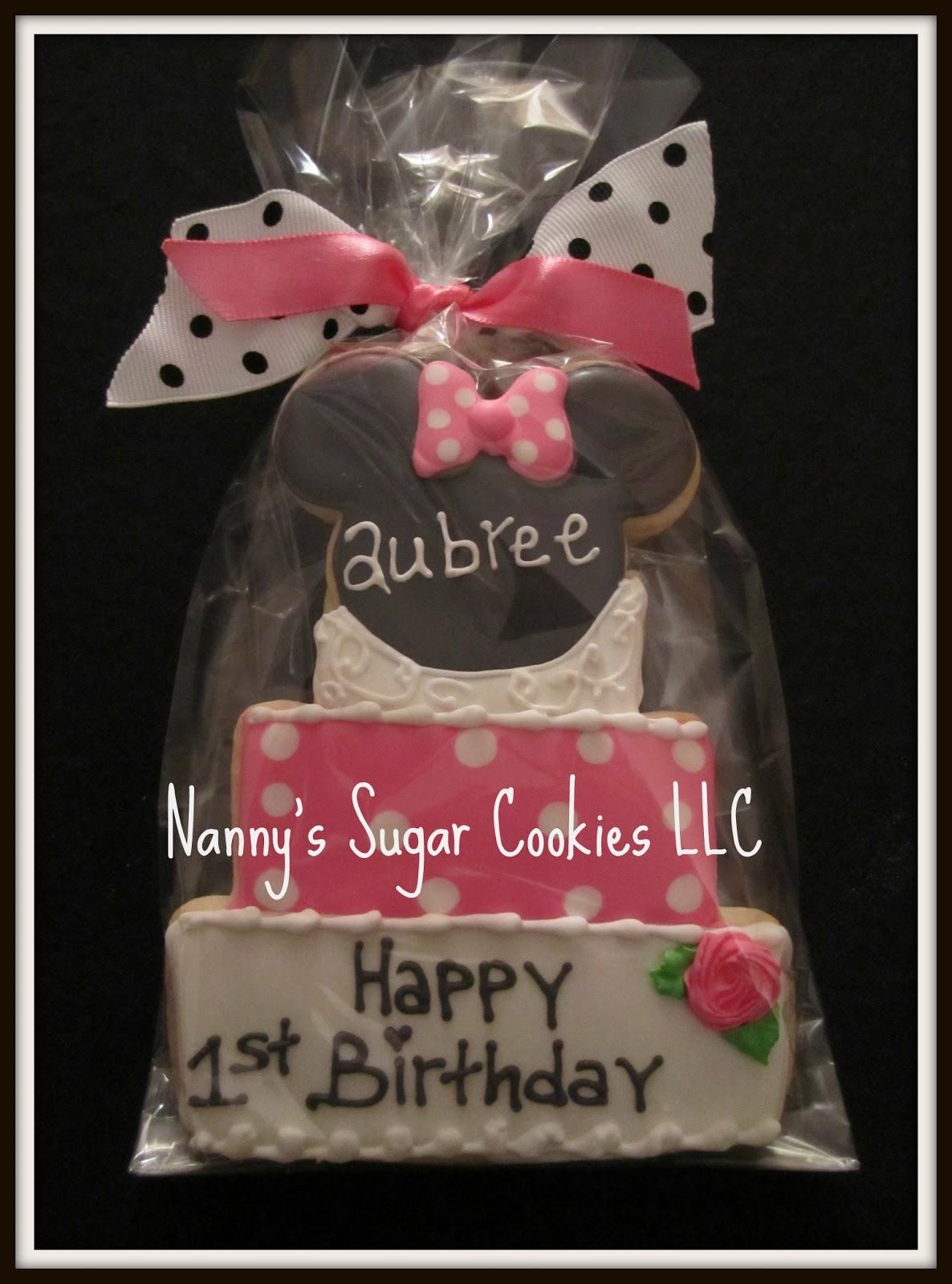 Nannys Sugar Cookies LLC: Happy Birthday