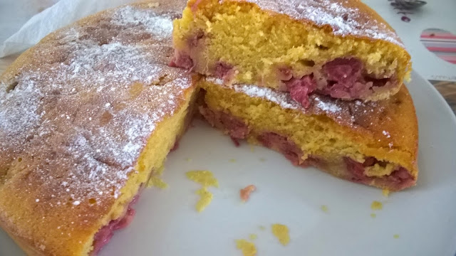 Gâteau aux fraises facile