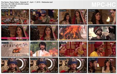 Sinopsis Razia Sultan MNCTV Episode 27