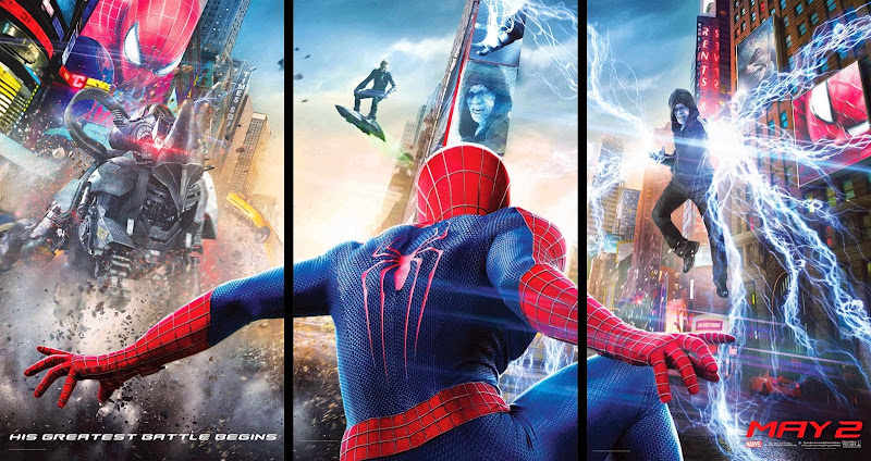 ตัวอย่างหนังใหม่ : The Amazing Spider-Man 2 (ดิ อะเมซิ่ง สไปเดอร์แมน 2: ผงาดจอมอสุรกายสายฟ้า) ซับไทย  poster