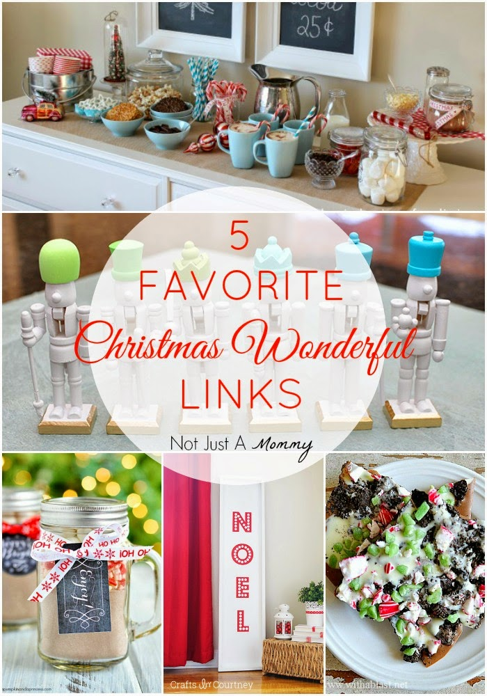 5 favorite Christmas Wonderful Links