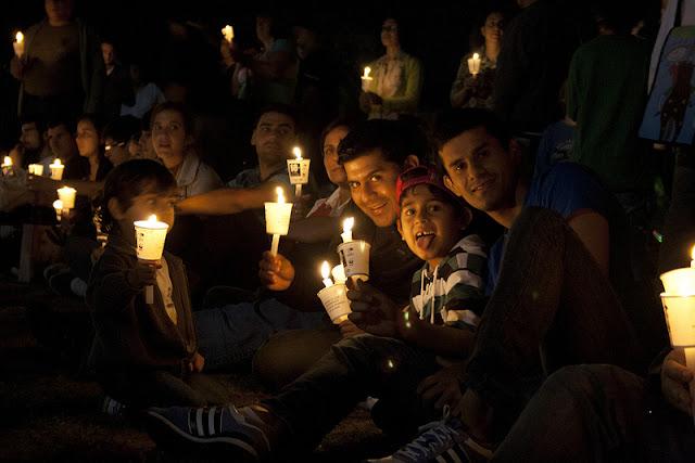 Video Aksi Earth Hour 2013 di Berbagai Negara