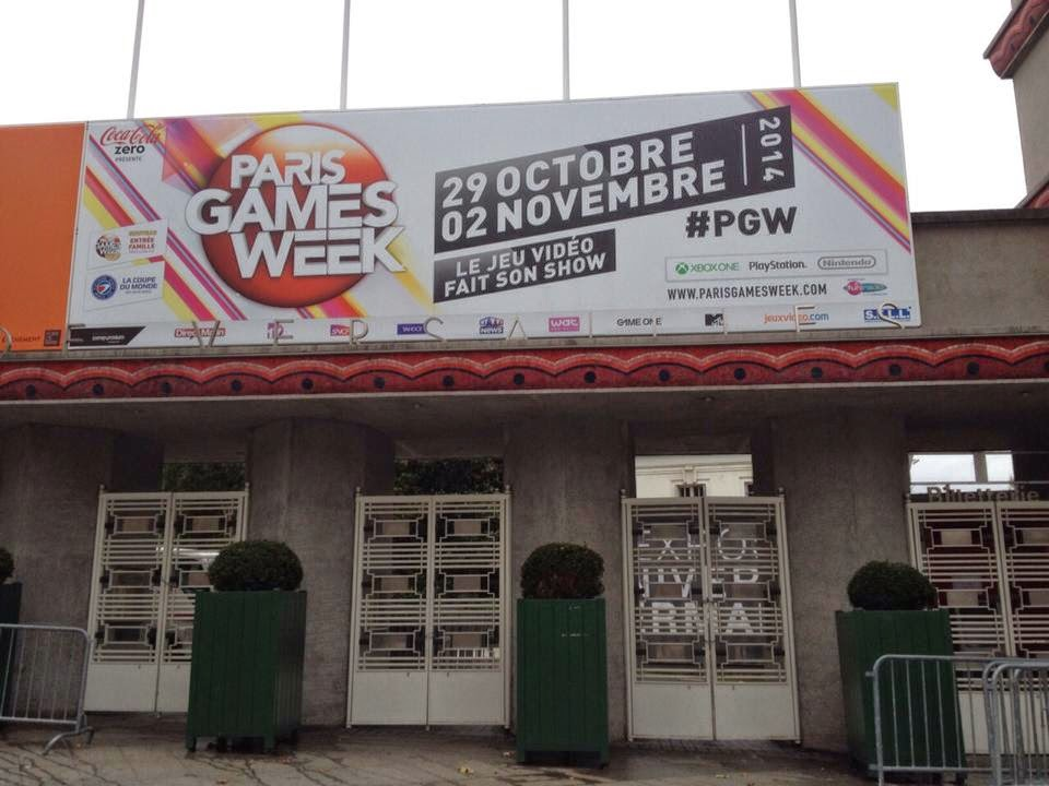Plan du Paris Games Week à la Paris Games Week