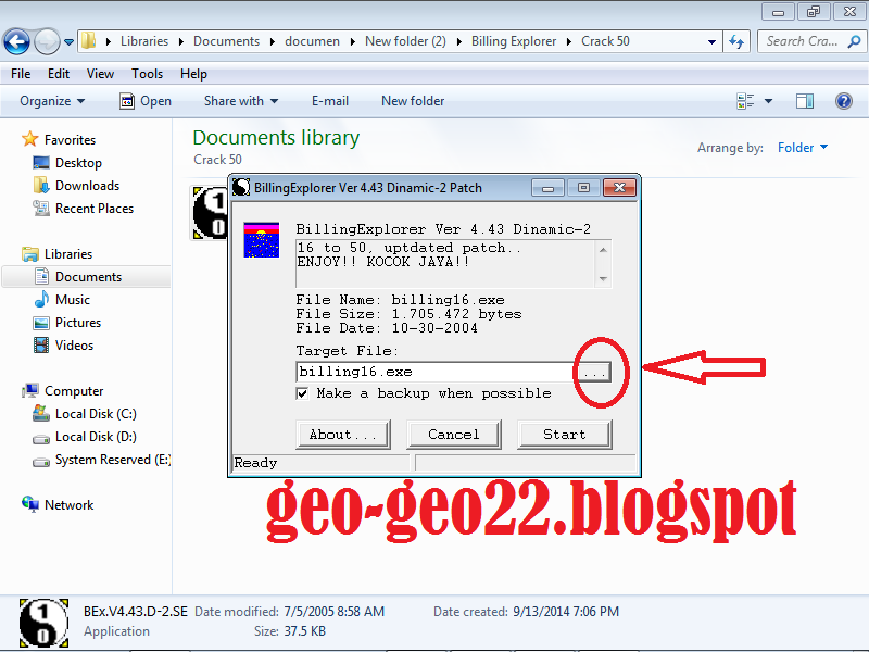 http://geo-geo22.blogspot.com/2014/09/cara-instal-billing-explorer-ver-443.html