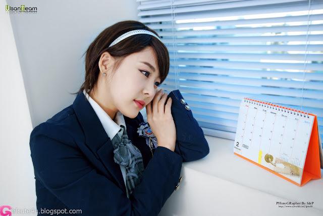 4 Kim Ji Min - Cute School girl-very cute asian girl-girlcute4u.blogspot.com