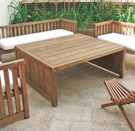 Mobiliario al aire libre aprende a decorar - Muebles de patio ...