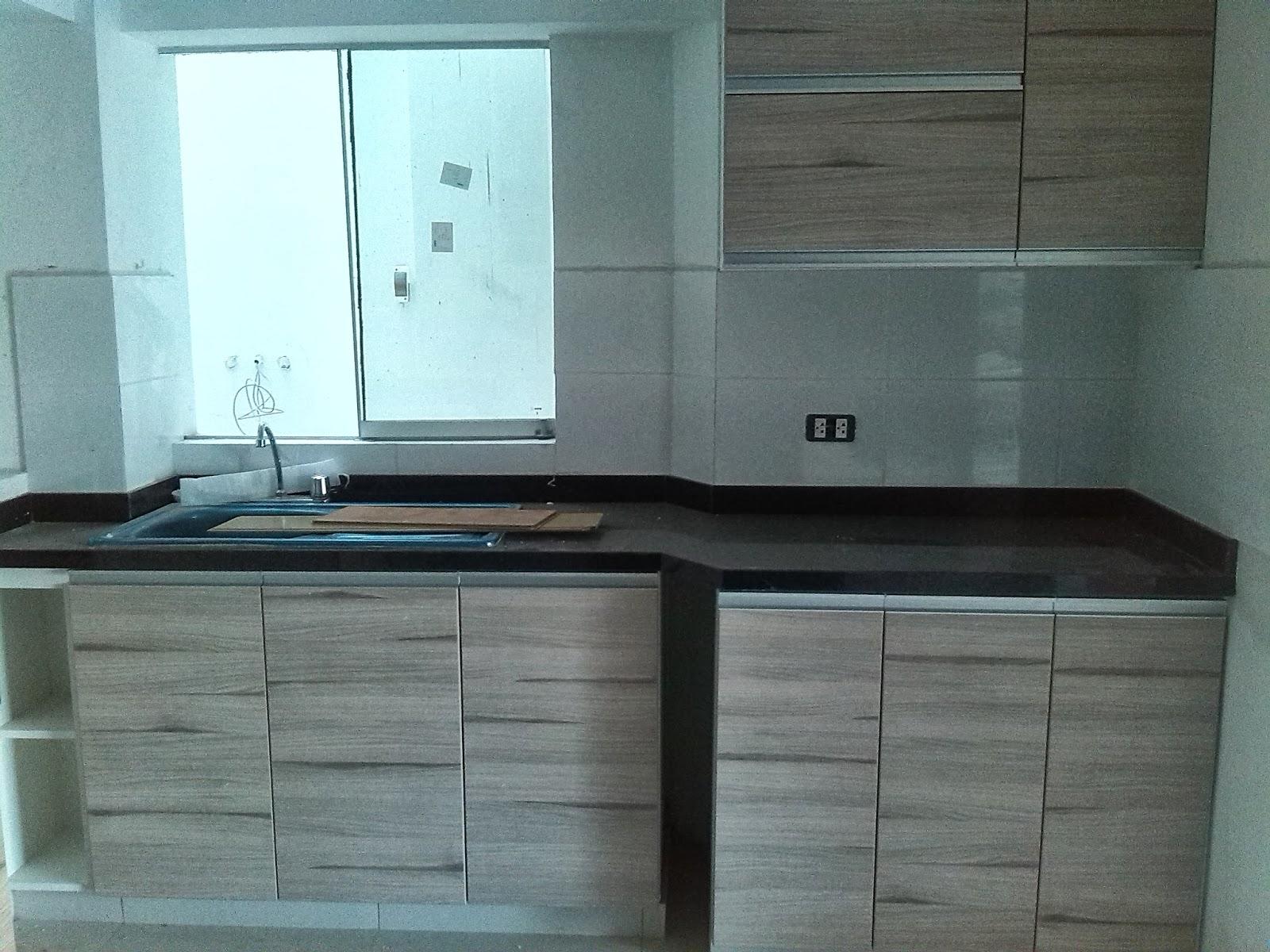 E y g proyectos integrales muebles en melamina aluminio for Modulos cocinas integrales