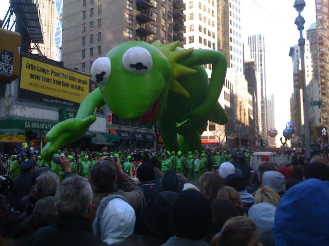 Kermit macy's parade