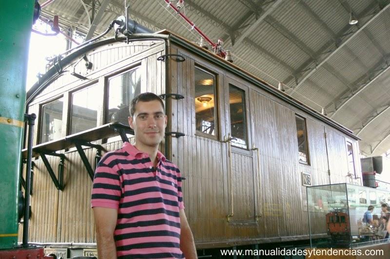 trenes del Museo del ferrocarril