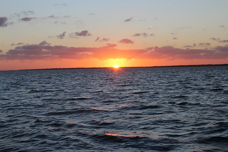 Sailboat Anchorage Dog Island Florida