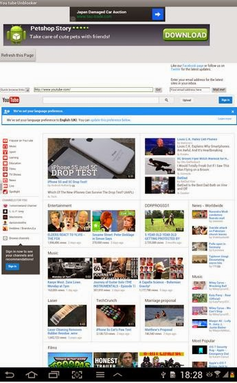 Unblock youtube pakistan for android download free app now find