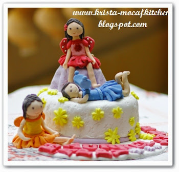 Fairy Birthday Cake