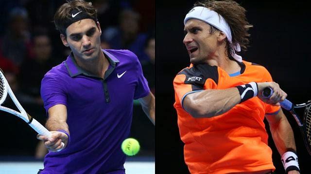 Roger Federer-David Ferrer