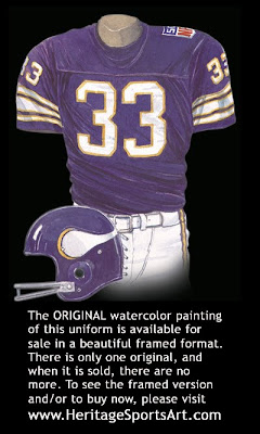 Minnesota Vikings 1969 homeuniform