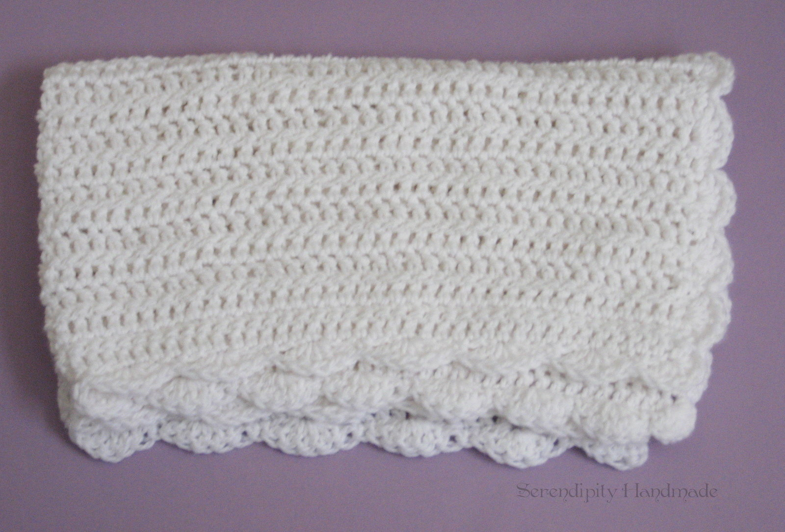 Crochet Lap Blanket : Serendipity Handmade: Craft Update: Crocheted Lap Blanket