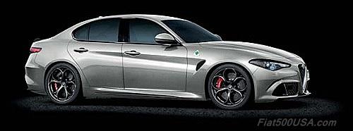 Alfa Romeo Giulia Quadrifoglio Silverstone Grey