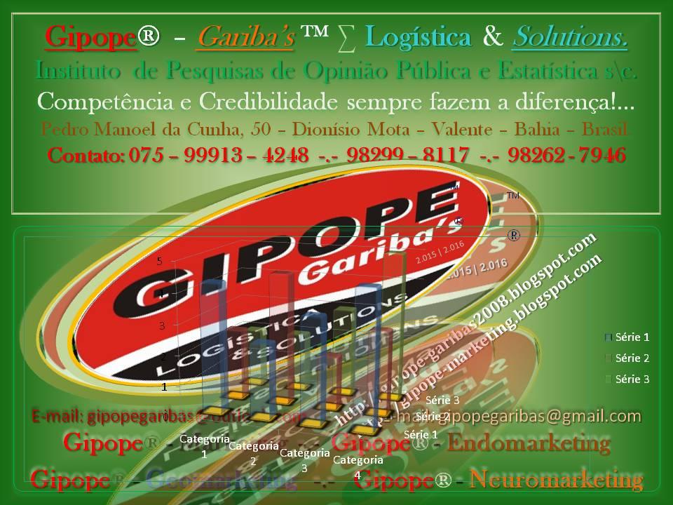 GIPOPE - GARIBA'S Logística for 2012 - 2013