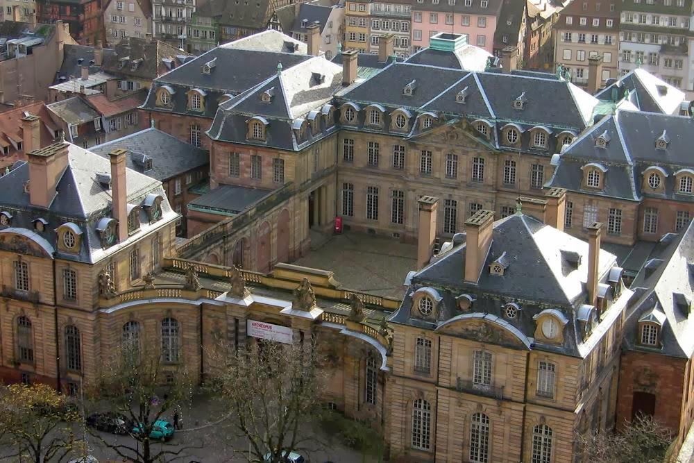 Palais Rohan in Straatsburg onder cc Pierre Metivier