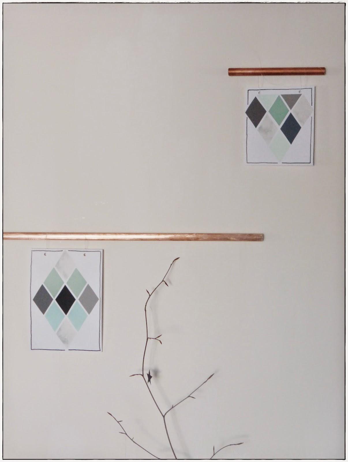 Deko Dekoration Kupfer Heizungsrohr DIY