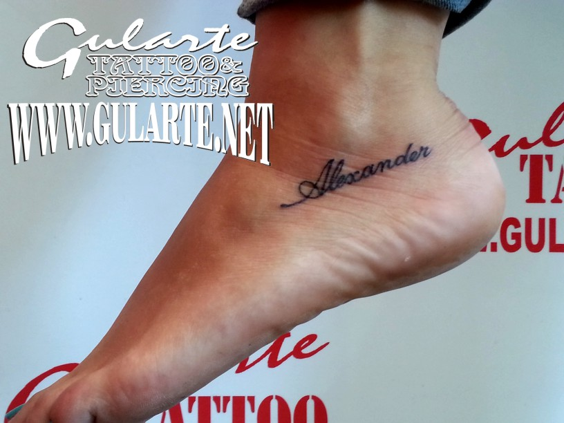 Gularte TATTOO Y PIERCING: TATTOO Tatiana